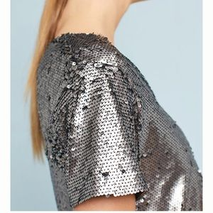 Anthropologie Tops - 🚨LAST CHANCE🚨{anthropologie} sequin top